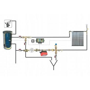 Kolektor słoneczny ciśnieniowy SPLIT